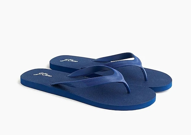 J.Crew flip-flops