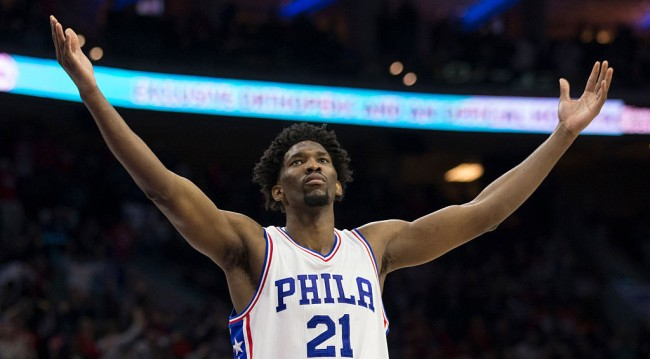 Joel Embiid Learned Shoot YouTube Videos White Guys