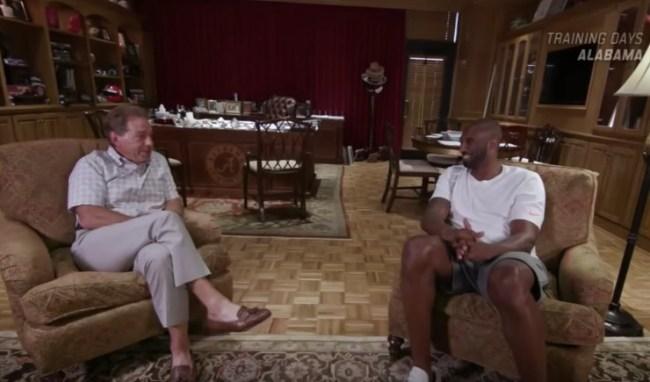 Kobe Bryant Nick Saban Leadership Interview