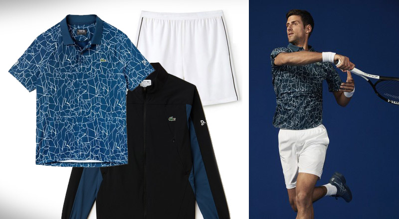 Score The Same Dope Lacoste Apparel Novak Djokovic And Other Players Are Rocking At The Us Open Brobible