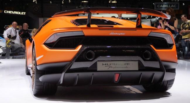 Lamborghini Huracan Permante Racing MIG-29K Jet