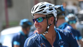 Lance Armstrong Wrecked His Face Wiping Out On A Bike Trail, Shares Bloody Selfie