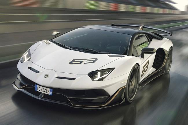 2019 Lamborghini Aventador SVJ Coupe