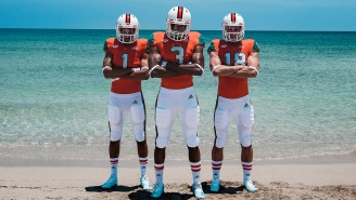 University of Miami Football Unveils New 'Environmental-Friendly' Uniforms And They Are Very Attractive