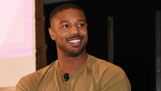 He Did It Again, Michael B. Jordan Surprises Fan Who Took Cardboard Cut-Out Of Him To Prom