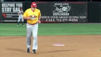 A Minor League Baseball Manager Did A Full Home Run Trot After Freaking Out About A Call