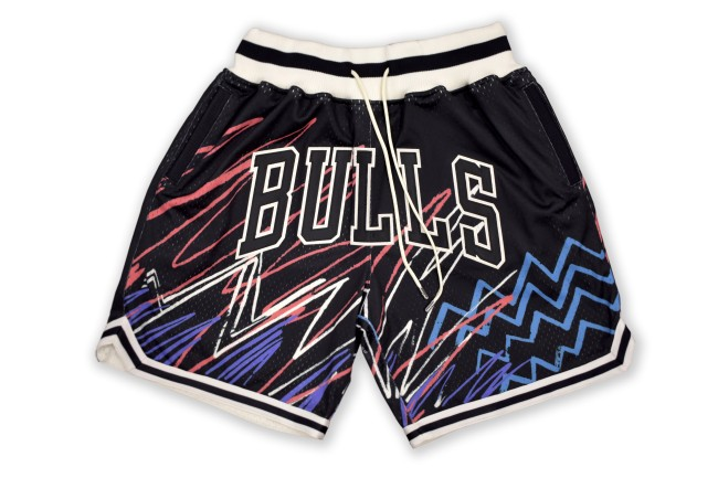 nba jam bulls shorts