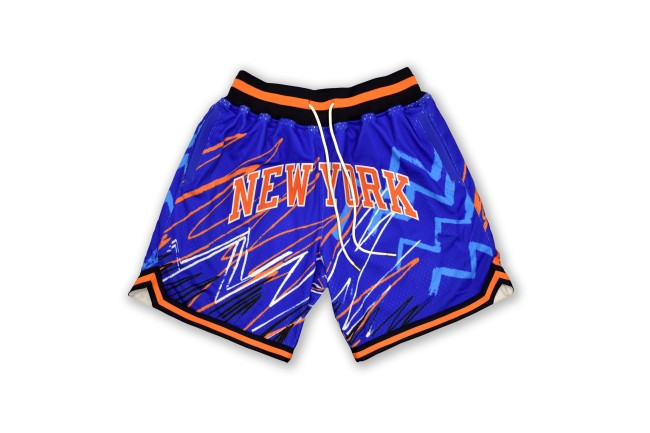 nba jam knicks shorts