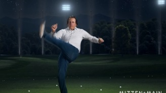 Here's Phil Mickelson Busting Out Acrobatic Dance Moves In Dad Jeans, Stare Too Hard And You Might Go Blind