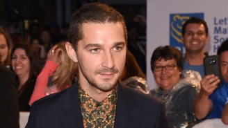 Director David Ayer Shared A Wild Photo Of Shia LaBeouf Covered In Tattoos For Latest Movie Role