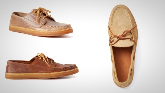 These Exclusive Rancourt & Co. Leather Moccasins Are The Shoes Missing From Your Life