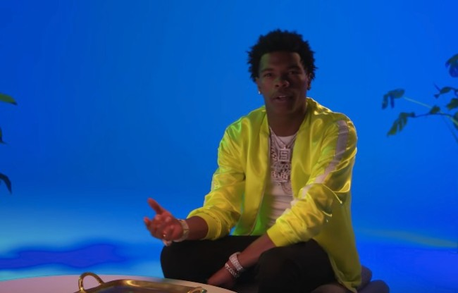 Rapper Lil Baby jewelry collection