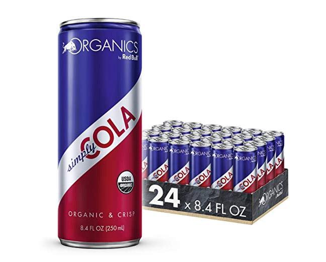 Red Bull New Organic Sodas