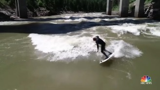 These Bros River Surfing Epic Waves In Missoula, Montana Are Living The Dream