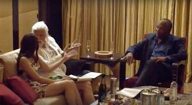 Sacha Baron Cohen Who Is America OJ Simpson
