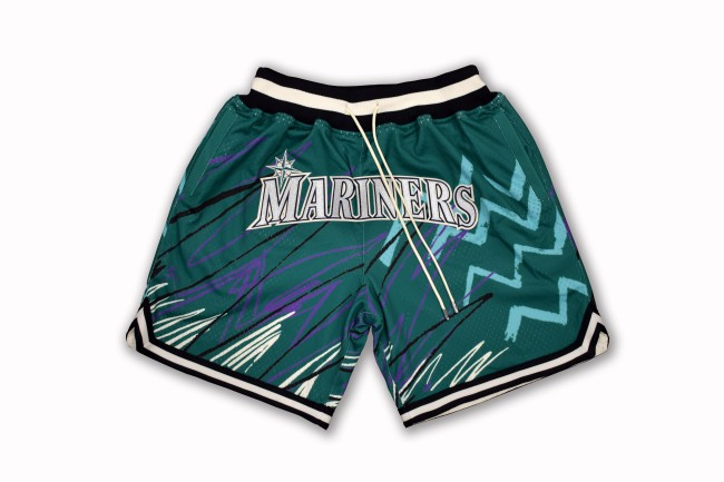 seattle mariners shorts mitchell and ness