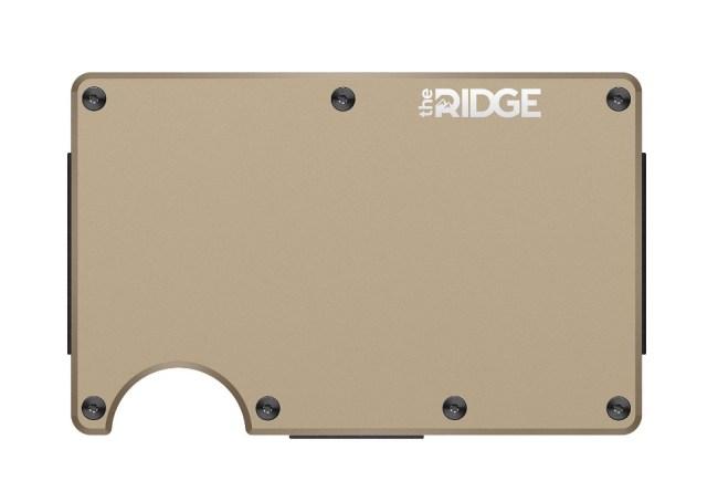 Ridge Wallet Aluminum Slim Wallet Money Clip