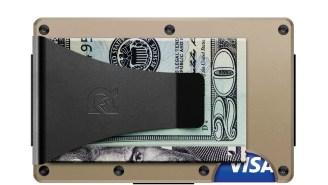 The Aluminum Ridge Wallet + Money Clip Is The Exact Slim Wallet Your Life Needs