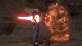 The Slow Mo Guys Film Huge Explosions At 200,000 FPS And It's Fire Like You've Never Seen Before