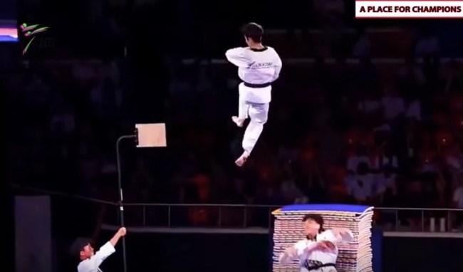 South Korean Taekwondo demonstration