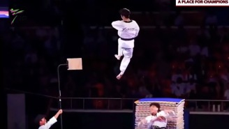 The South Korean Taekwondo Team's Routine Is Like 'The Matrix' On Steroids But With Actual Flying Humans