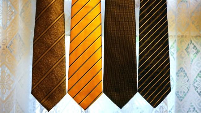 striped ties