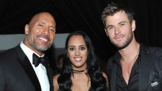 The Rock Wished Chris Hemsworth Happy Birthday By Singing And Calling Him The Fourth Best Chris