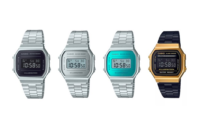 things we want 2018 Casio vintage collection