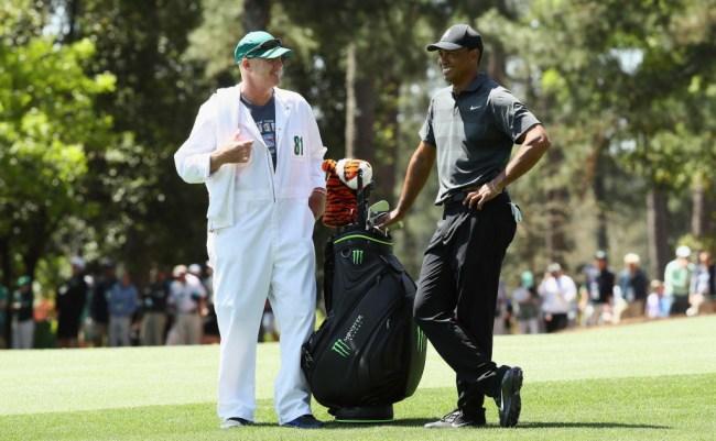 Tiger Woods Caddie Joe LaCava Paid Heckler Leave Tournament