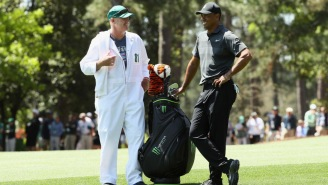 Tiger Woods' Caddie Joe LaCava Told An A+ Story About Paying A Heckler To Leave A Golf Tournament