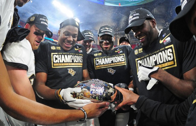 ncaa recognizes ufc knights national championship
