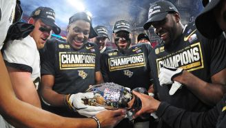 The UCF Knights Are Now Officially* National Champions According To The NCAA Record Books