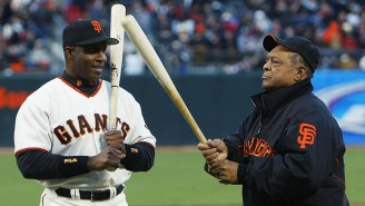 MLB Legend Willie Mays Says Barry Bonds 'Deserves' To Be In The Baseball Hall of Fame