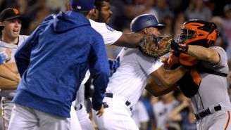 Yasiel Puig Went After The Opposing Catcher In The Middle Of An At-Bat And Chaos Ensued