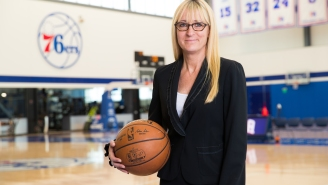76ers COO Lara Price Offers Insight on Engaging Fans in Both the Home Market and Abroad