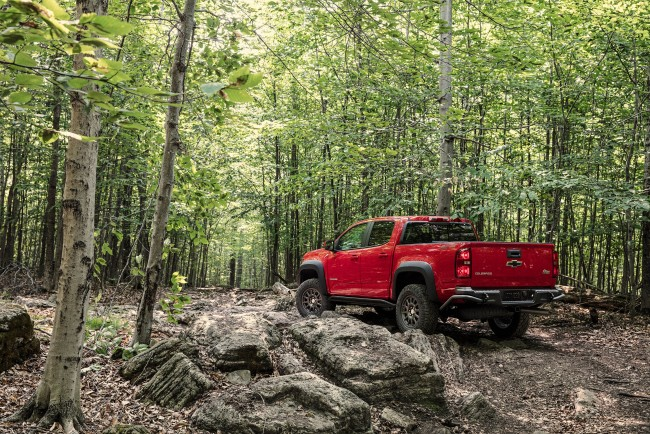 The Colorado ZR2 Bison is Chevrolet's first collaboration with American Expedition Vehicles.