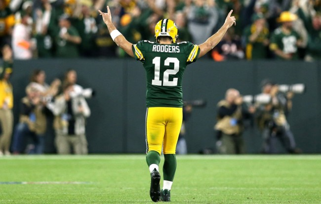Aaron Rodgers Didnt Take Painkillers Interview