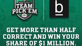 DraftKings Is Offering A FREE Week 1 Pick 'Em Where You Can Win Your Share Of $1 Million BY PICKING WINNING TEAMS