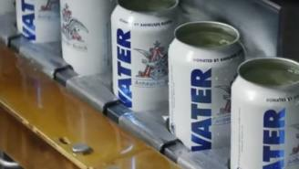 Anheuser-Busch Stops Canning Beer To Can Water For Hurricane Florence Victims
