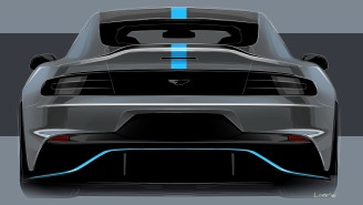 Aston Martin Revealed Specs For Its First All-Electric Tesla Killer, The 601 Horsepower Rapide E