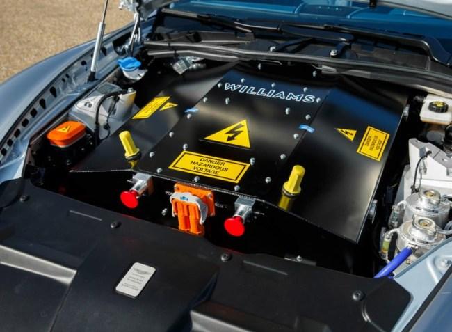 Aston Martin All-Electric Rapide E
