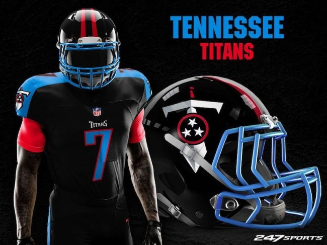 Blackout Uniforms For Every NFL Team