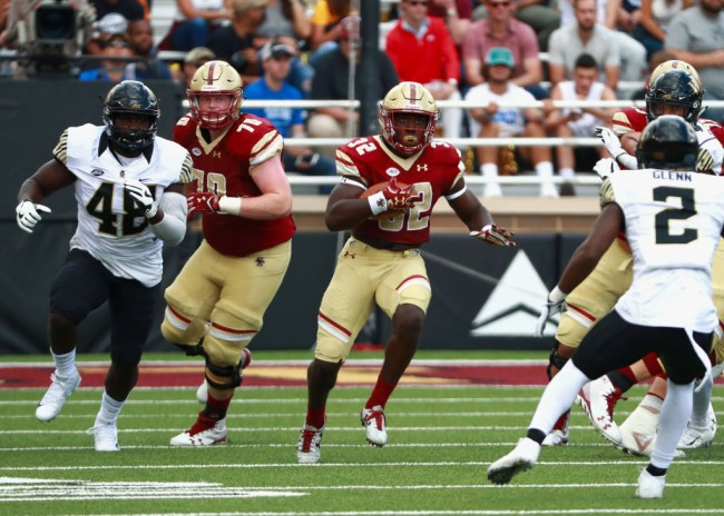 hurricane florence college football games