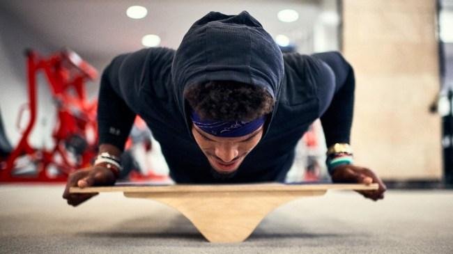 Cam Newtons Offseason Workout Regimen