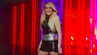 People Were Really, Really Not Digging Carrie Underwood's Newest 'Sunday Night Football' Theme Song