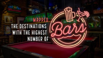 Who's Ready For A Trip? Interactive Map Reveals The 50 Cities With The Most Bars In The World