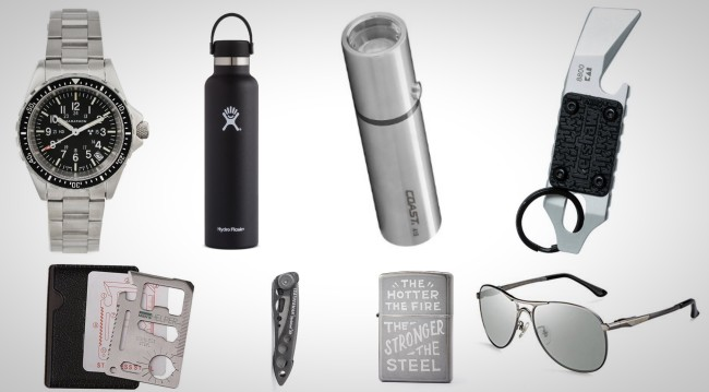 stainless steel everyday carry essentials