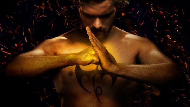 Finn Jones Martial Arts Training Iron Fist