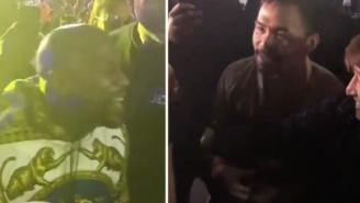Floyd Mayweather And Manny Pacquiao Announce Rematch For This Year After They Confront Each Other At A Concert