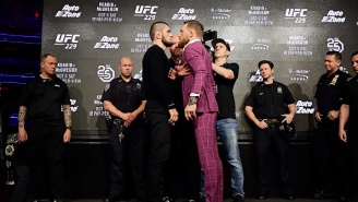 Conor McGregor Calls Khabib Nurmagedov's Manager Ali Abdelaziz A 'Terrorist Snitch' During UFC 229 Press Conference